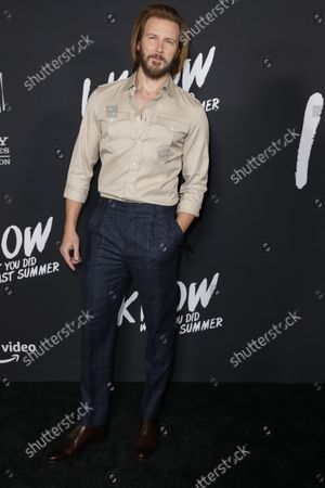 Stock Photo of Bill Hicks attends the premiere of Amazon Prime's new series 'I Know What You Did Last Summer' at the Hollywood Roosevelt Hotel in Los Angeles, California, USA, 13 October 2021. The series will be released on Amazon Prime on 15 October 2021.