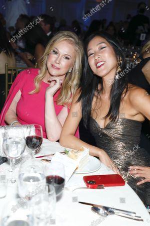 Kathy Hilton and Laura Kim