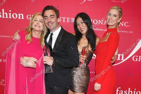Kathy Hilton, honorees Fernando Garcia and Laura Kim, and Nicky Hilton Rothschild