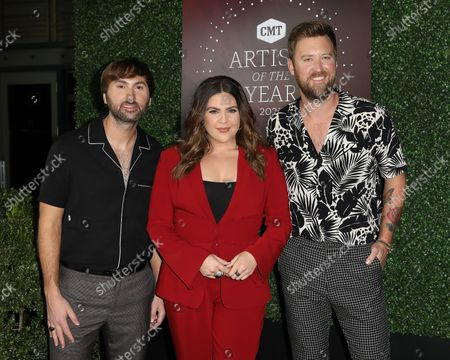Editorial photo of CMT Artists of the Year, Arrivals, Nashville, Tennessee, USA - 13 Oct 2021