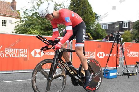 Editorial photo of HSBC UK British Cycling Championship, Road. Individual Time Trial - 14 Oct 2021