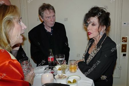Susan Boyd, Bill Collins and Dame Joan Collins
