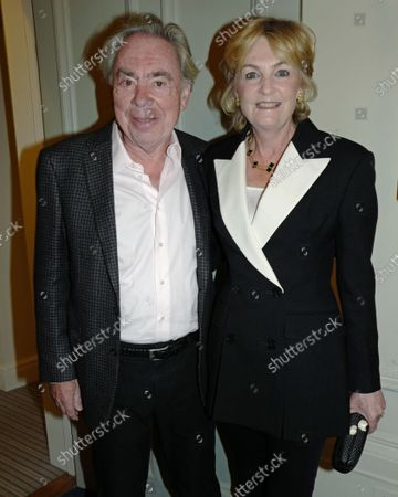 Stock Photo of Andrew Lloyd Webber and Lady Lloyd Webber