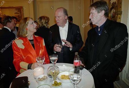 Stock Photo of Susan Boyd, William Boyd and Bill Collins
