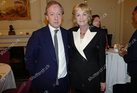 Stock Picture of Geordie Greig and Lady Lloyd Webber