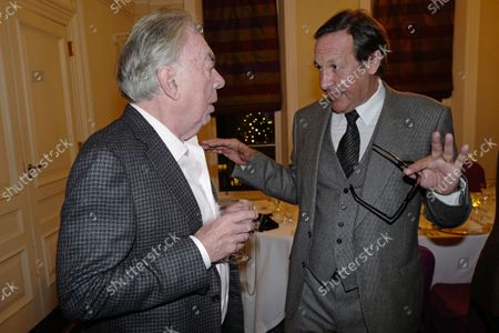 Stock Image of Andrew Lloyd Webber and Percy Gibson