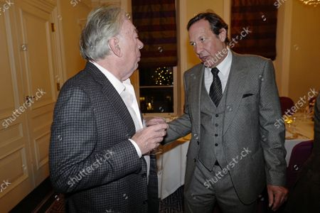 Andrew Lloyd Webber and Percy Gibson