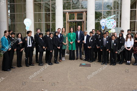 Editorial photo of Generation Earthshot event, Kew Gardens, London, UK - 13 Oct 2021