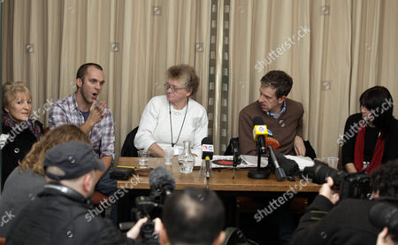 Editorial image of Press conference ahead of an anti-war demonstration in London, Britain - 19 Nov 2010