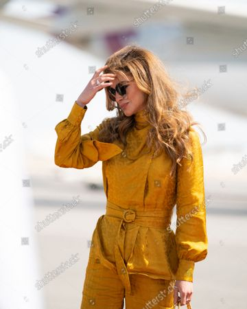 Stock Photo of Her Majesty, Queen Rania Al Abdullah's visit to Qatar