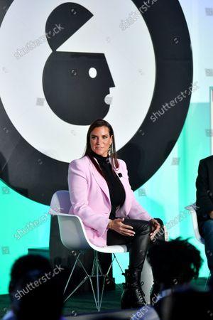 Stephanie McMahon, WWE, Chief Brand Officer and Michael Gewirtzman, Advertising Week, Global Programming Director