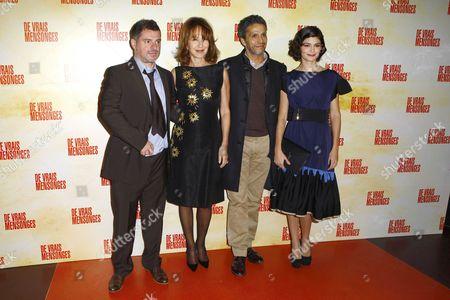 Pierre Salvadori, Nathalie Baye, Sami Bouajila and Audrey Tautou