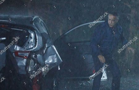 Coronation Street - Ep 10459 Monday 18th October 2021 - 2nd Ep As smoke seeps into the car Dev Alahan, as played by Jimmi Harkishin, has to decide whether to help Asha Alahan or Aadi Alahan. Believing Asha to be in more danger he goes to her aid and drags her away from the car.