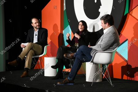 Jose Luis Los Arcos, Univision Communications, Vice President, Sports Partner Solutions (Moderator), Angela Zepeda, Chief Marketing Officer, Hyundai Motor America and Olek Loewenstein, Univision Communications, President, Sports Content