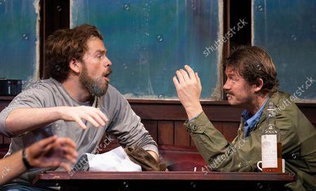 Liam Murray Scott as Richard Dreyfuss,  Ian Shaw as Robert Shaw