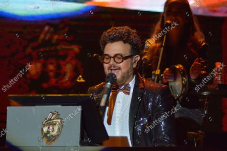 Editorial photo of Aleks Syntek Performs During Plaza Satelite 50th Anniversary, Mexico City, Mexico - 13 Oct 2021