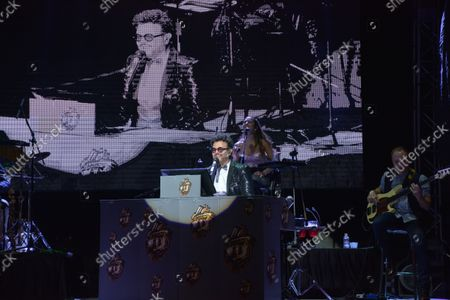 Editorial image of Aleks Syntek Performs During Plaza Satelite 50th Anniversary, Mexico City, Mexico - 13 Oct 2021