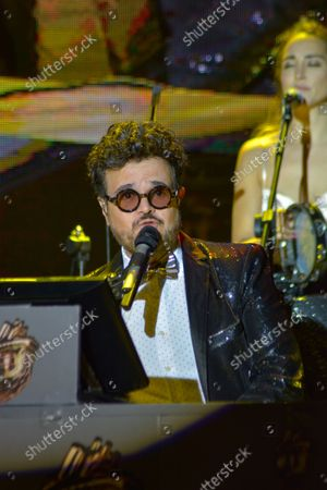 Editorial picture of Aleks Syntek Performs During Plaza Satelite 50th Anniversary, Mexico City, Mexico - 13 Oct 2021