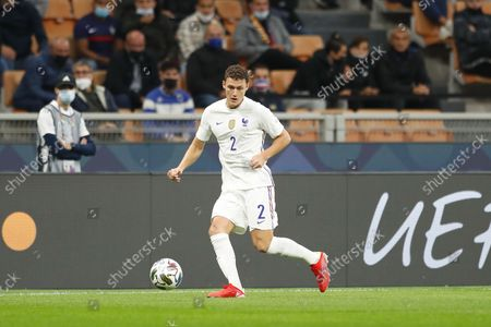 Benjamin Pavard (FRA) - Football / Soccer : UEFA Nations League final match between Spain 1-2 France at the Stadio San Siro in Milan, Italy.
