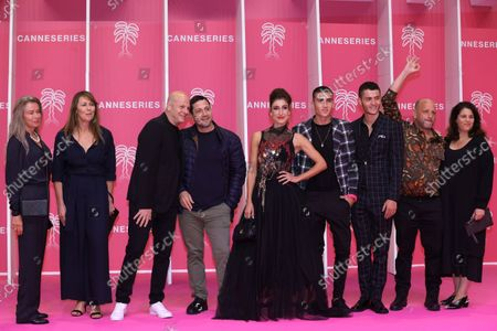Editorial photo of Pink Carpet Closing Ceremony, Arrivals, Canneseries, Season 4, Cannes, France - 13 Oct 2021