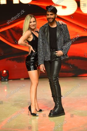 Editorial image of 'Dancing with star' TV show photocall, Rome, Italy - 14 Oct 2021