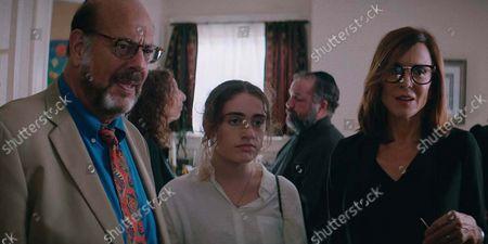 Fred Melamed, Rachel Sennott, Polly Draper