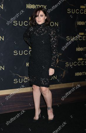 Editorial picture of HBO's Succession Season 3 Premiere, New York, USA - 12 Oct 2021