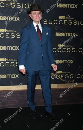 """Stock Image of Fisher Stevens attend HBO's """"Succession"""" Season 3 Premiere at the American Museum of Natural History in New York"""