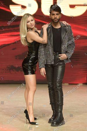 Federico Lauro and Anastacia Kuzmina