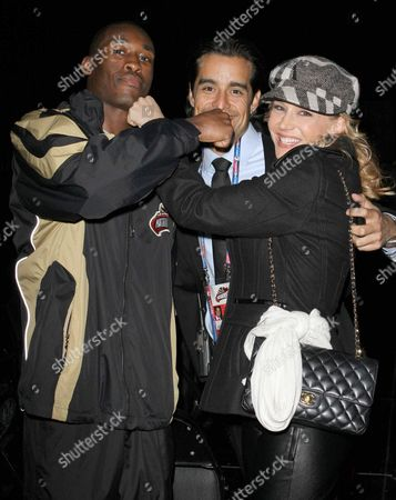 Stock Picture of Russell Lamour, Rich Orosco and Julie Benz