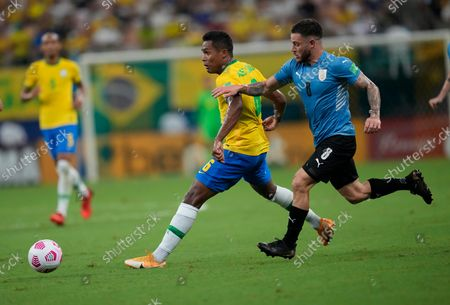 Editorial photo of Uruguay Wcup Soccer, Manaus, Brazil - 14 Oct 2021