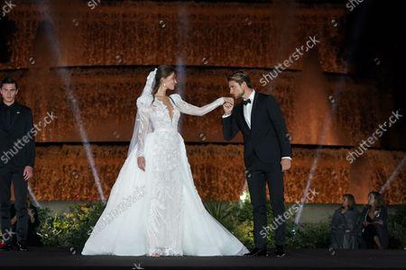 Barcelona Bridal Fashion Week, Show and catwalk Carlo Pignatelli for Pronovias