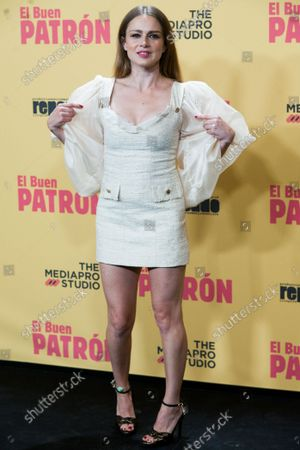Stock Picture of 'El Buen Patron' premiere at Callao Cinema in Madrid on October 14, 2021. The film 'El Buen Patron' was chosen as the Spanish candidate for the 2022 Academy Awards.  Carla Nieto