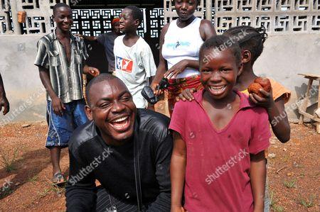 Joshua Milton Blahyi with children