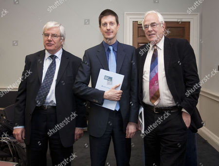 Stock Picture of Robert Chote, Graham Parker and Stephen Nickell,