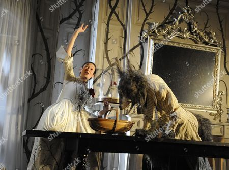 'Beauty and the Beast' - Sian Clifford (Beauty), Mark Arends (The Beast)