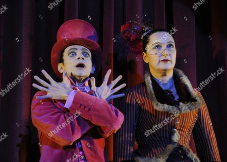 'Beauty and the Beast' - Justin Salinger (The Man in Pink), Kate Duchene (Cecile)
