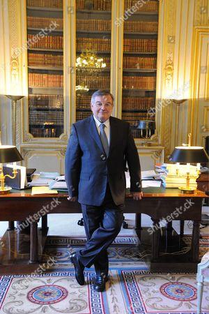 Justice Minister Michel Mercier