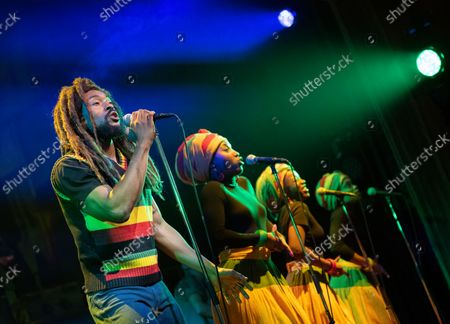 Stock Photo of Arinze Kene as Bob Marley