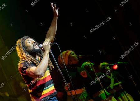 Stock Picture of Arinze Kene as Bob Marley