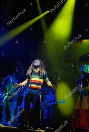 Stock Image of Arinze Kene as Bob Marley