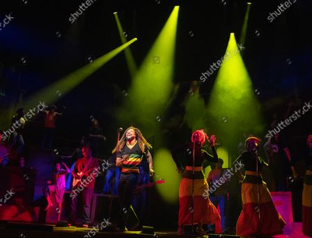 Editorial photo of Get Up, Stand Up! The Bob Marley Musical performed at the Lyric Theatre, London,UK - 14 Oct 2021