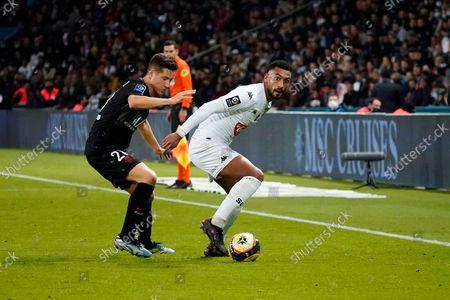 Editorial photo of Paris Saint Germain v Angers, Ligue 1, Football, Parc des Princes, Paris, France - 15 October 2021