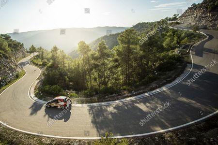 33 Evans Elfyn (gbr), Martin Scott (gbr), Toyota Gazoo Racing WRT, Toyota Yaris WRC, action