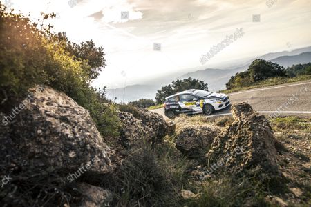 Editorial picture of Rally RACC Rally Catalunya de Espana, 11th round of the 2021 FIA WRC, FIA World Rally Championship, Salou, Spain - 15 Oct 2021