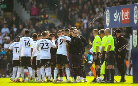 Editorial picture of Fulham v Queens Park Rangers, EFL Sky Bet Championship, Football, Craven Cottage, London, UK - 16 Oct 2021