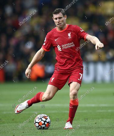 Stock Photo of James Milner of Liverpool