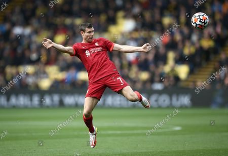 Editorial picture of Watford v Liverpool, Premier League, Football, Vicarage Road, Watford, UK - 16 Oct 2021