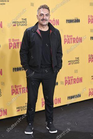 Juan Carlos Vellido attends the 'El buen patron' movie premiere at Callao cinema in Madrid, Spain