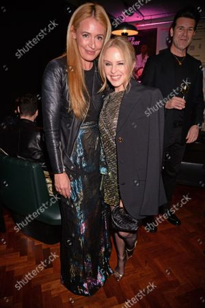 Cat Deeley and Kylie Minogue